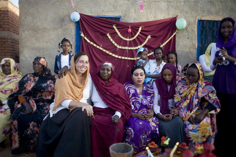 ensinar idioma sudão áfrica