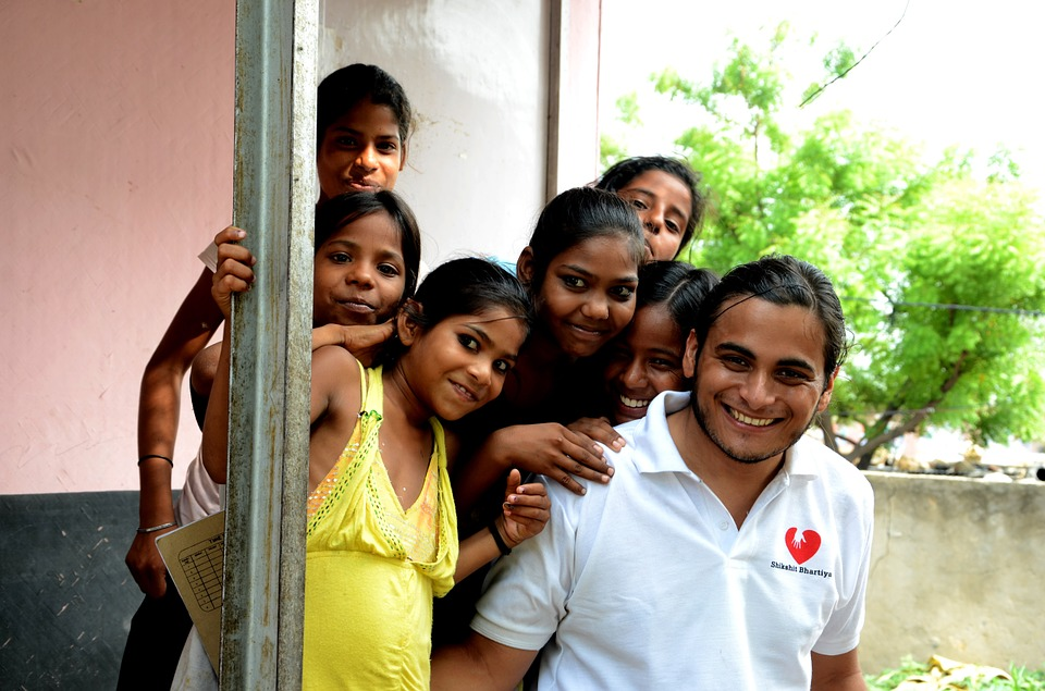 trabalho voluntário no exterior