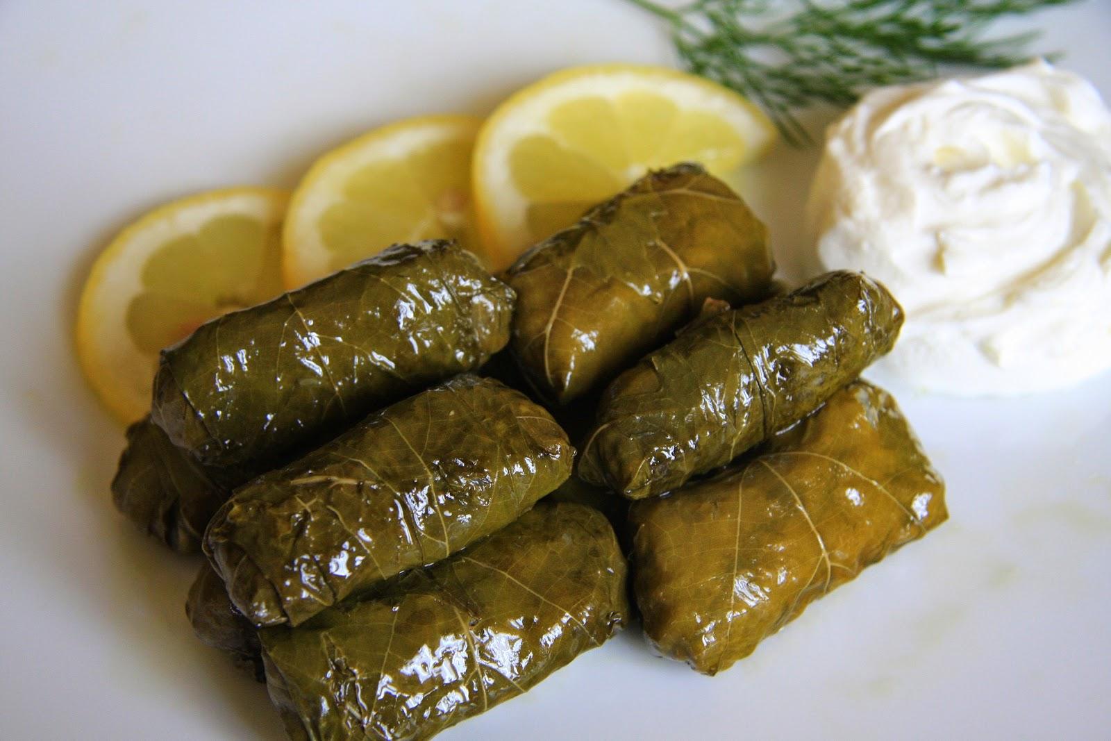 Dolmadakia - comida grega