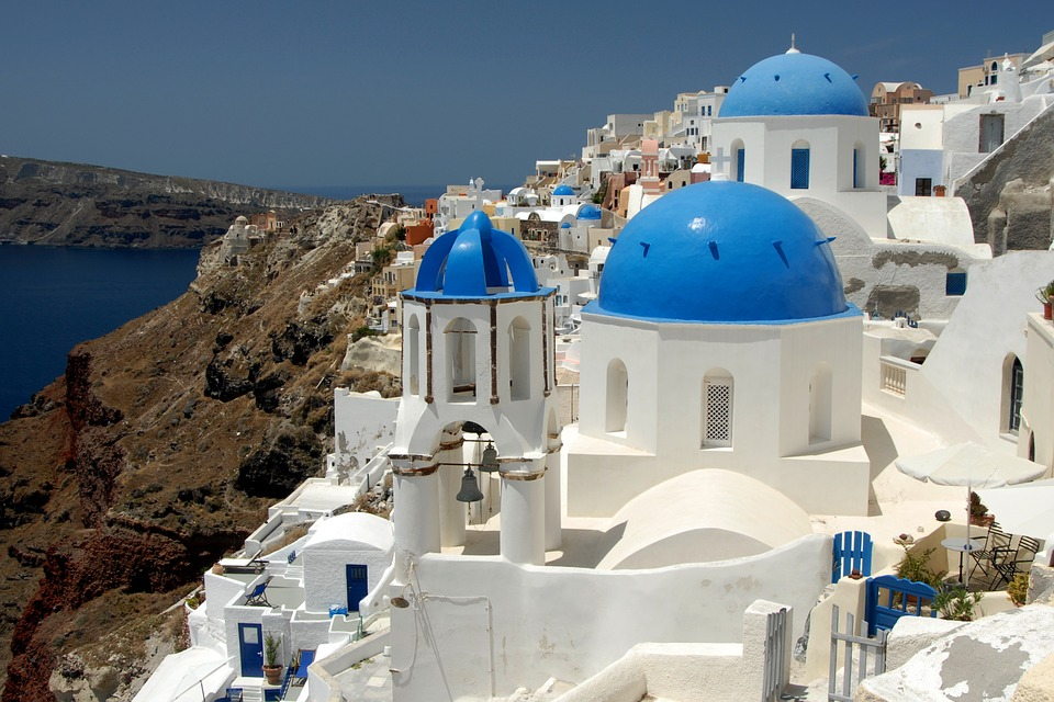 Santorini é a ilha grega mais visitada por turistas