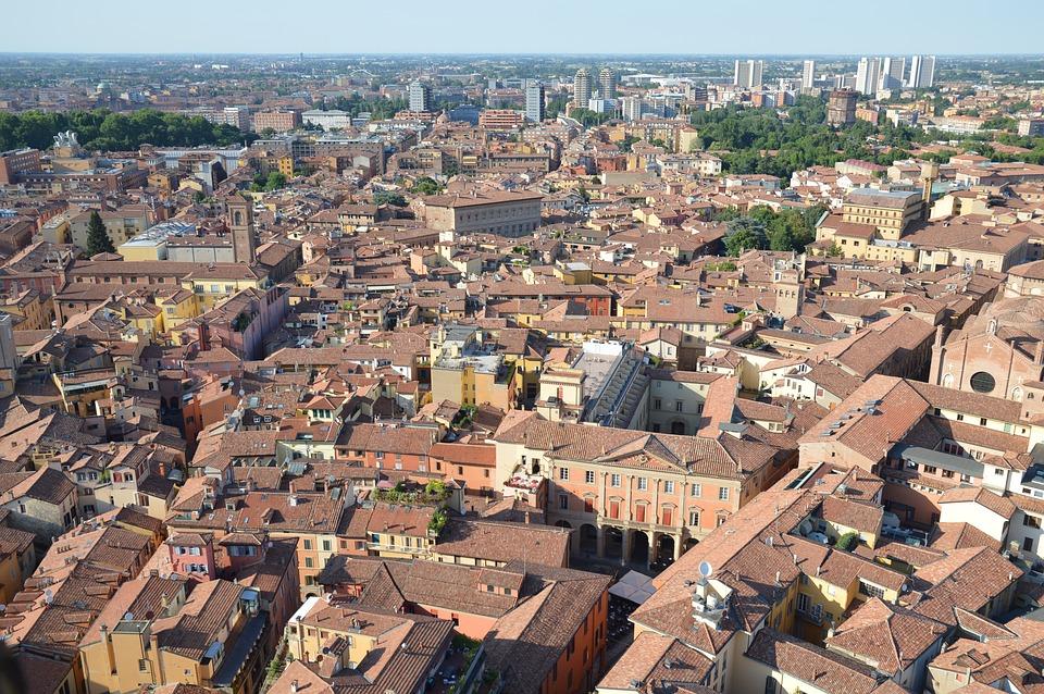 roteiros de viagem pela Itália -Bolonha