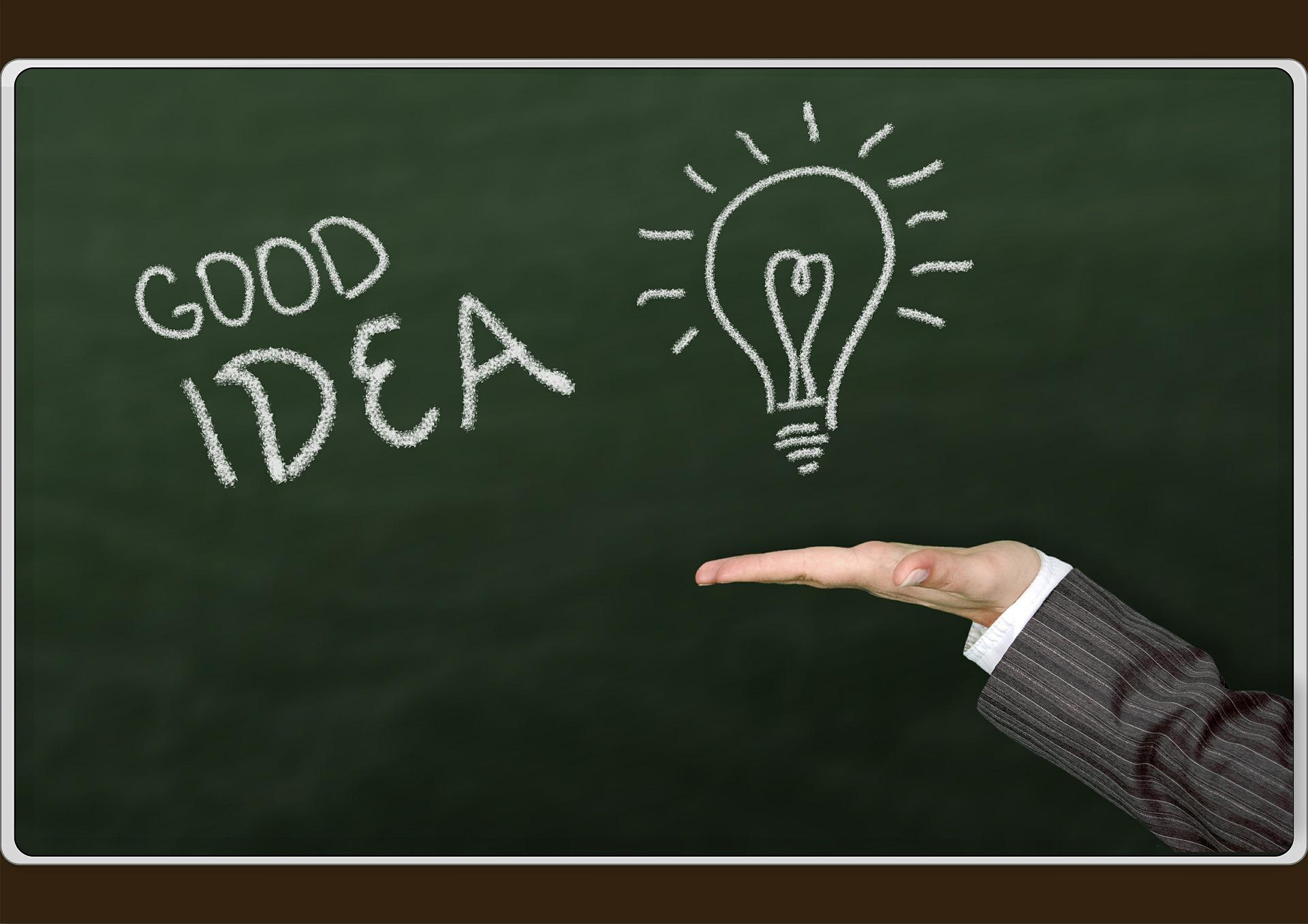 ideia criativa pode ajudar você a aumentar sua renda.