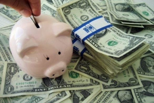 juntar dinheiro ganhando pouco