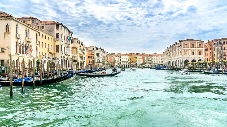 roteiros de viagem pela Itália -Veneza