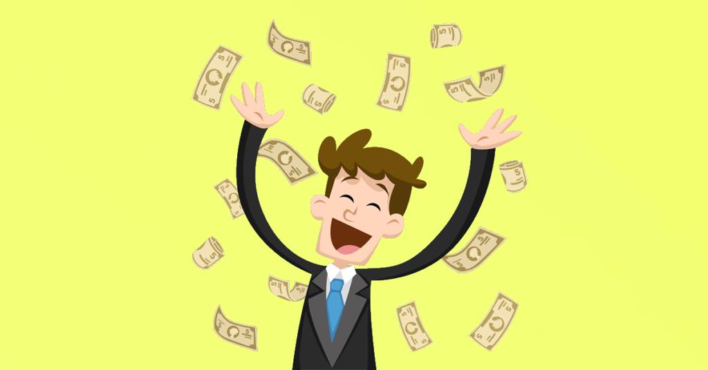 É preciso aceitar que a riqueza é a soma de ganância e sorte