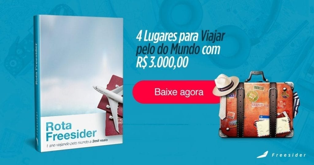 Ebook 4 Lugares para viajar ao redor do mundo