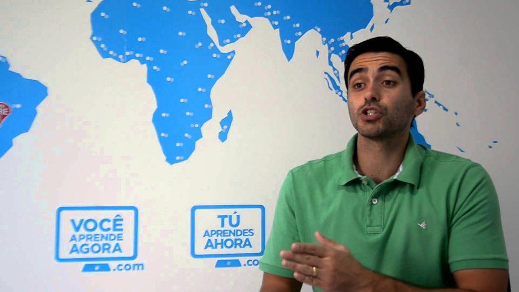 Felipe Dib é o fundador do Você Aprende Agora