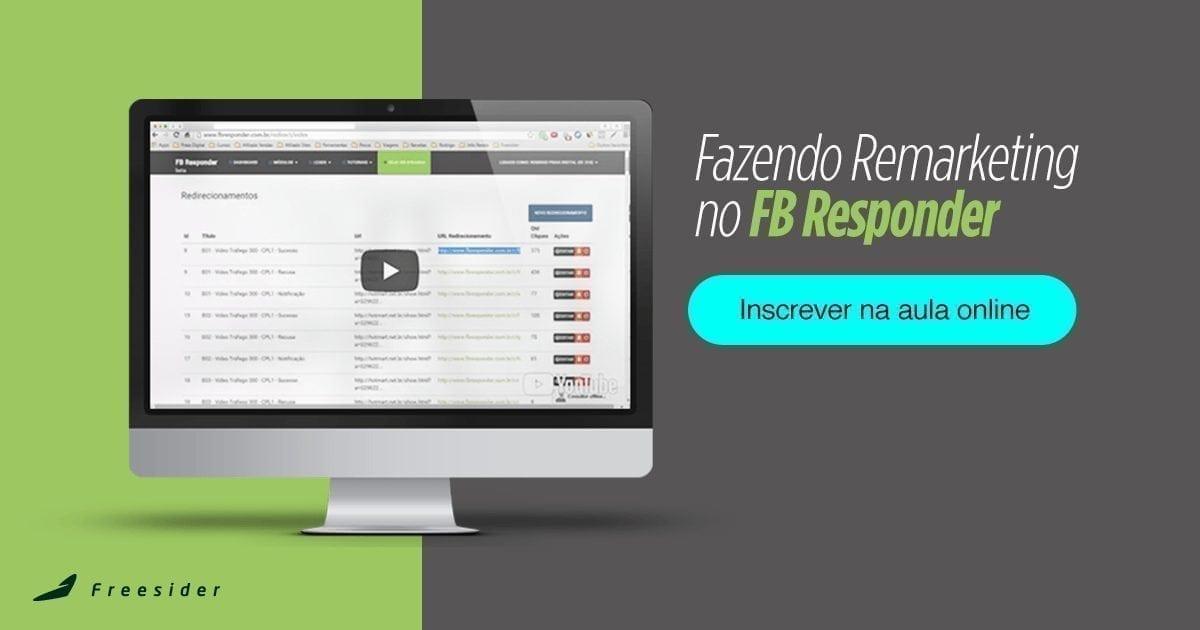 [Aula Online] Fazendo Remarketing no FB Responder