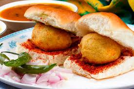 vada pav é uma comida indiana