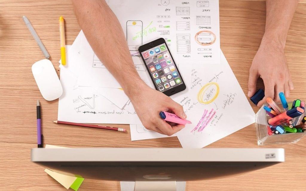 Pensar é essencial para descobrir no que deseja trabalhar.