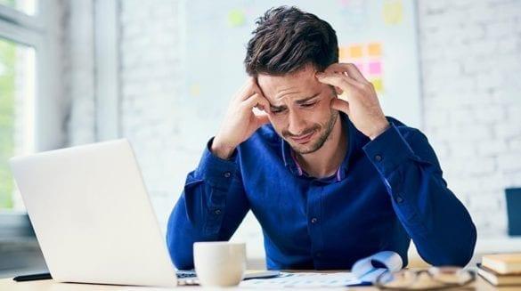 depressão causada pelo trabalho