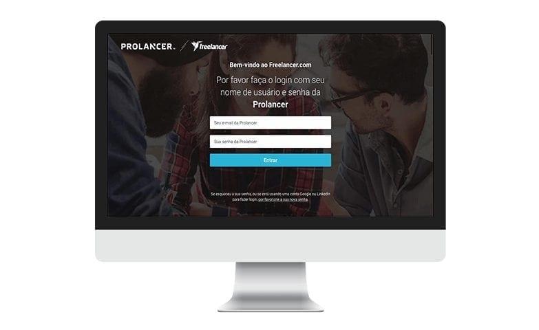 plataforma para freelancers é a Prolancer