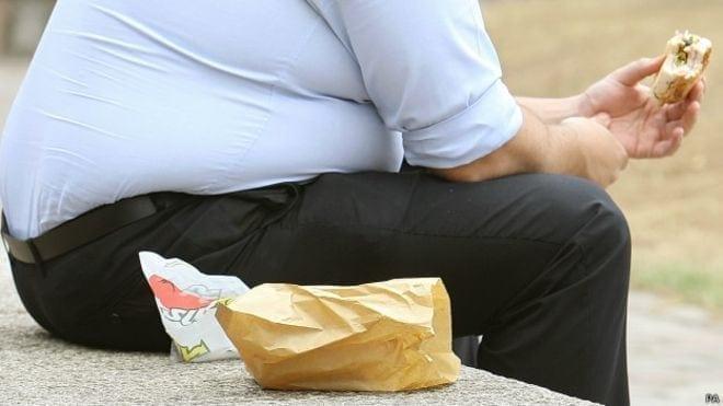 trabalhador com excesso de peso