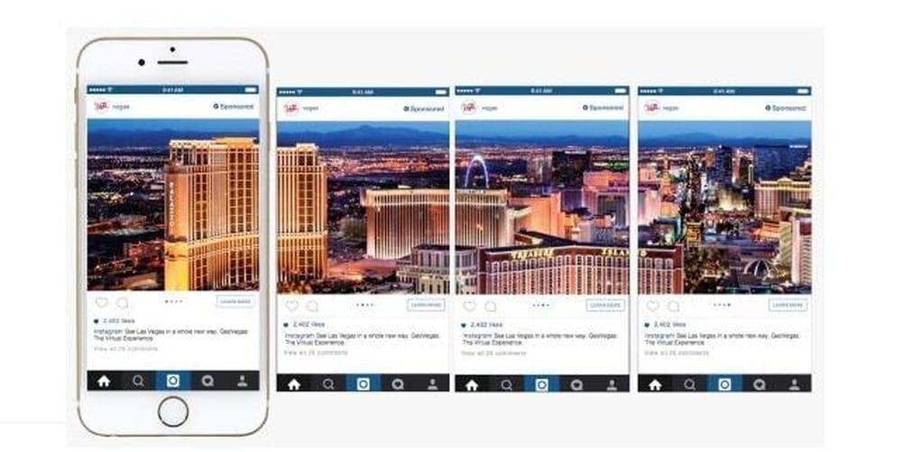 como criar um anúncio carrosel no instagram 2