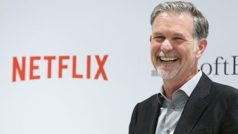 empreendedores digitais Reed Hastings
