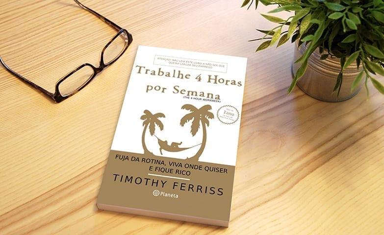 Capa Do Livro: Trabalhe 4 Horas Por Semana de Timothy Ferriss