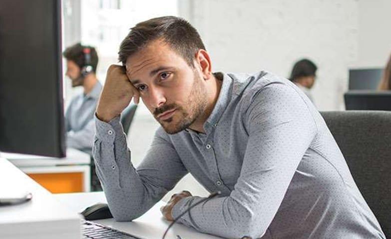 Sinais de depressão no trabalho
