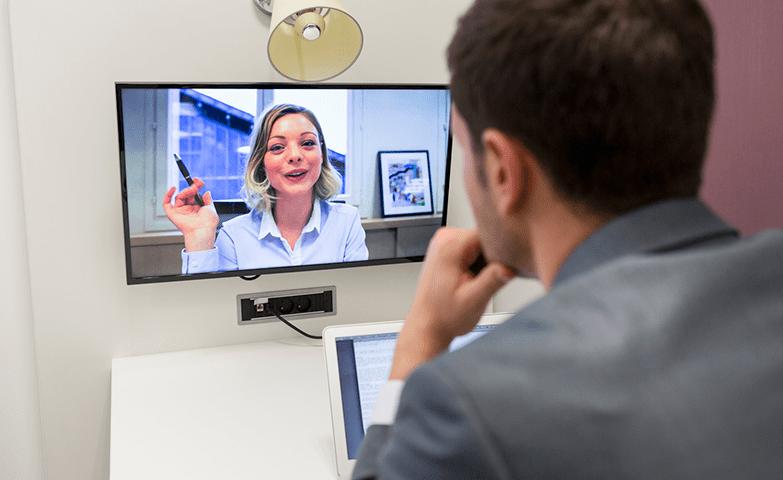 Reuniões por vídeos chamadas são muito mais eficientes