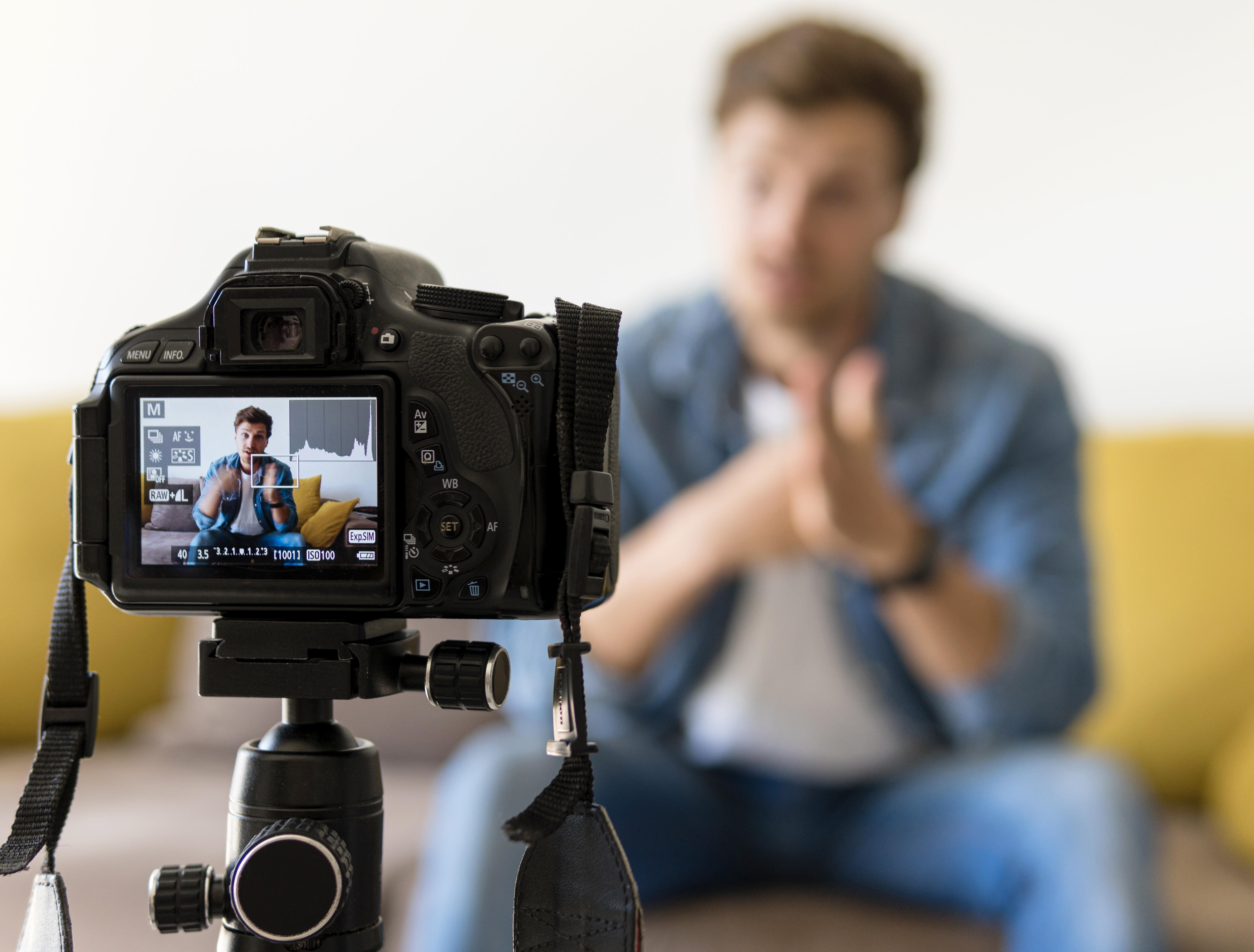 como gravar videos